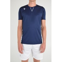 Quick Trainingsshirt Haye Navy/wit